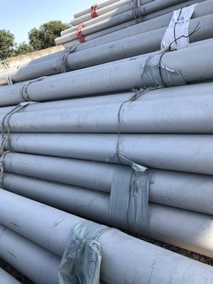 Pipeline Transport 12m Sch80 DN15 Ss304 Seamless Stainless Steel Pipe